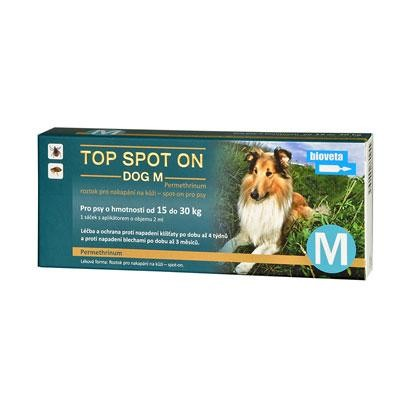 TOP Spot on Dog M 10x2ml (15-30kg)