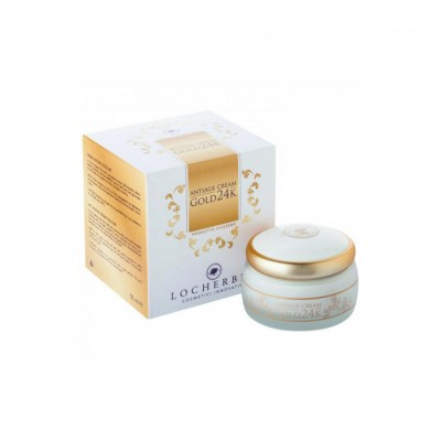 Locherber GOLD 24K maska s vit. E 50ml