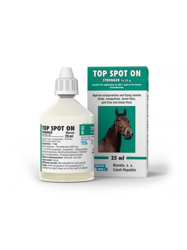 Top spot on sol for Horse 25ml STRONGER